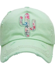 Too Too Hat Floral Cactus Hat - Product Mini Image