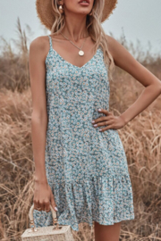 She and Sky Floral Cami Dress - Product Mini Image