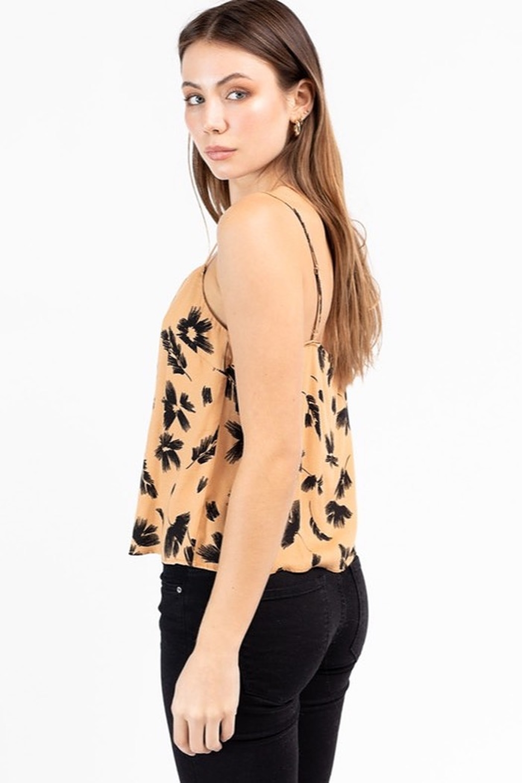 Le Lis Floral Cami Top - Front Full Image