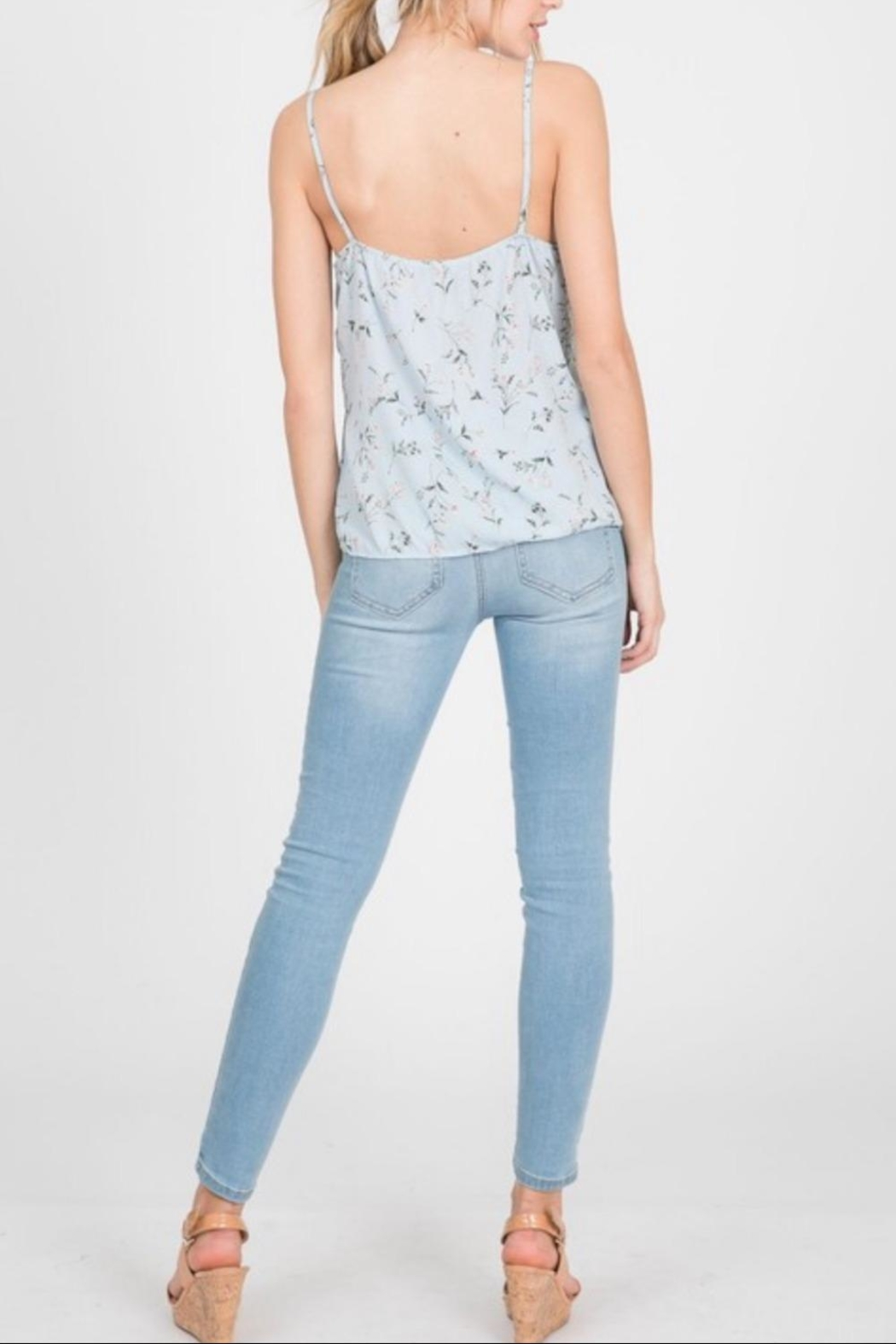 Paper Crane Floral Cami Top - Side Cropped Image