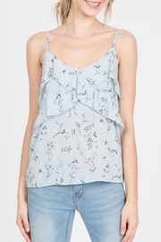 Paper Crane Floral Cami Top - Front full body