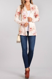Chris & Carol Floral Cardigan - Product Mini Image