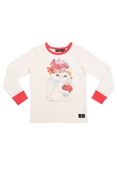 Rock Your Baby Floral Cat Top - Alternate List Image