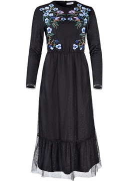 Shoptiques Product: FLORAL CHIFFON DRESS