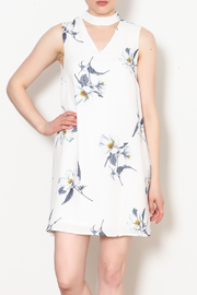 Sadie & Sage Floral Choker Cut Out Dress - Product Mini Image