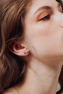 Shoptiques Product: Floral Climber Earrings