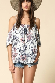 By Together Floral Cold Shoulder - Front cropped