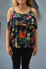 RD Style Floral Cold Shoulder - Product Mini Image