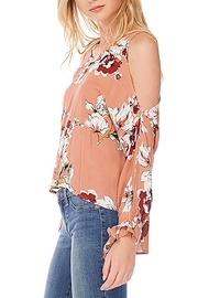 Anama Floral Cold-Shoulder Blouse - Front full body