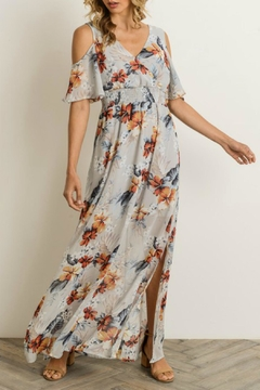 Gilli Floral Cold-Shoulder Maxi-Dress - Product List Image