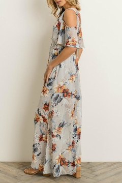 Gilli Floral Cold-Shoulder Maxi-Dress - Alternate List Image