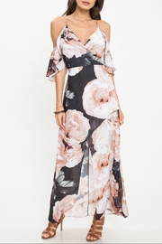 Latiste Floral Cold-Shoulder Maxi - Product Mini Image