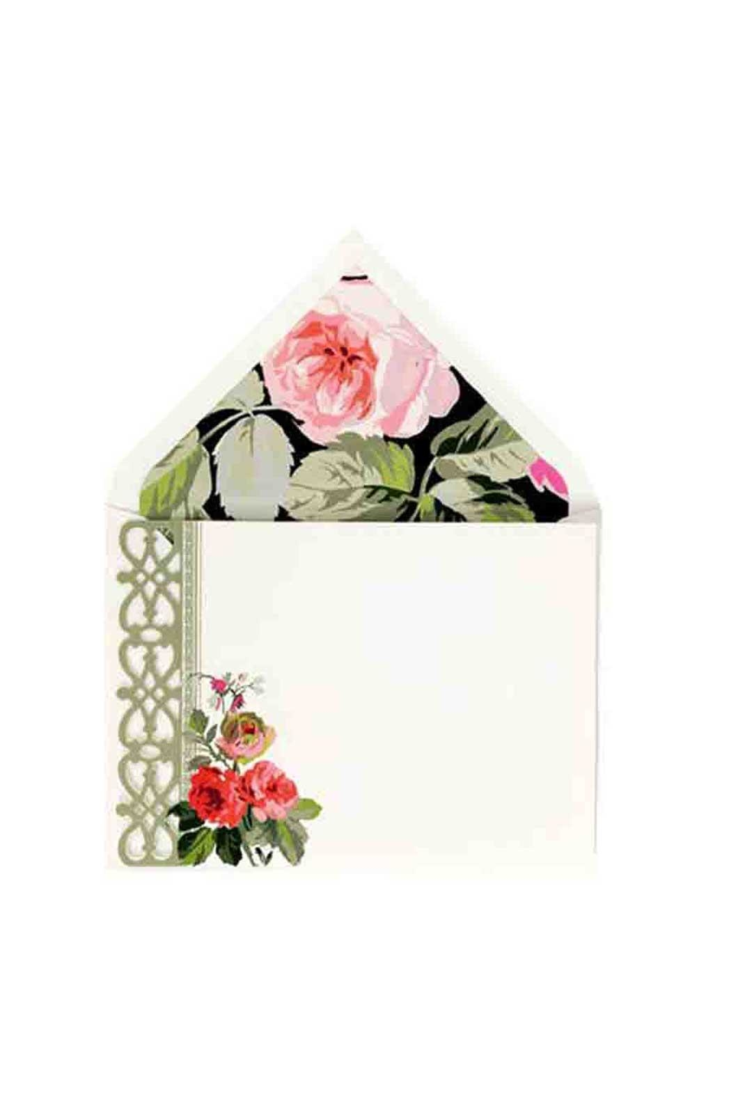 Anna Griffin Floral Correspondence Cards - Main Image
