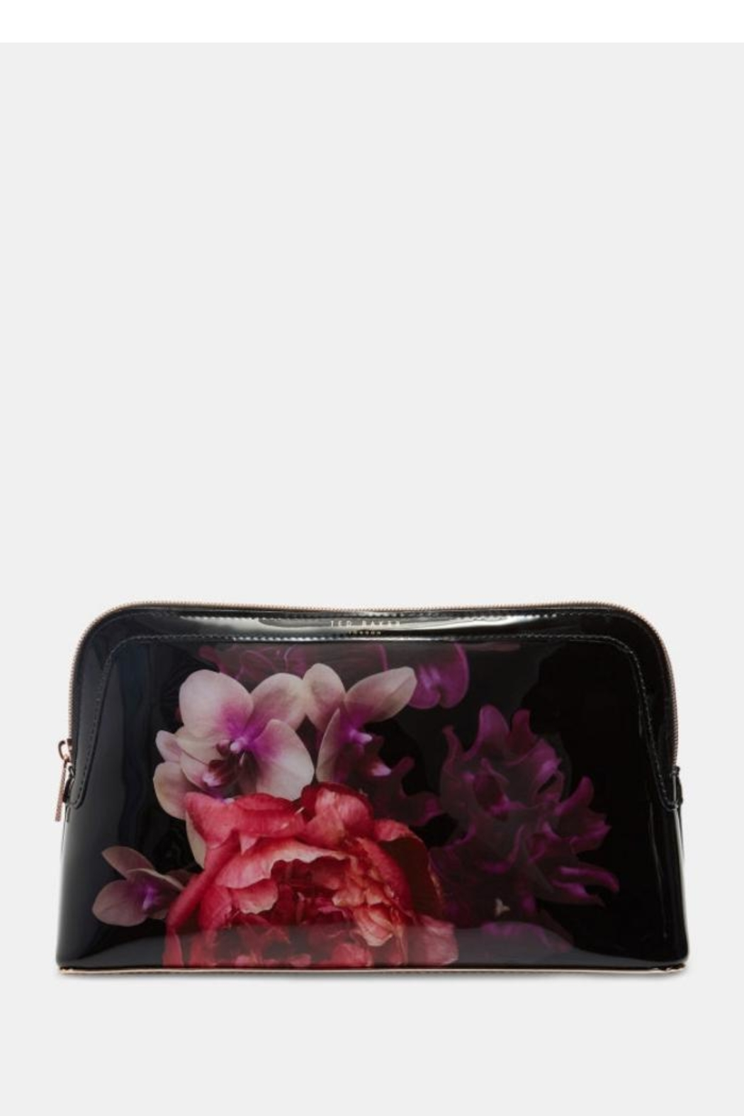 Ted Baker Floral Cosmetic Bag - Front Cropped Image