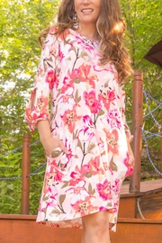 Pure Essence Floral Cotton Dress - Product Mini Image