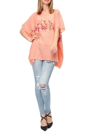 Life Is Beautiful Floral Cover-Up Poncho - Product Mini Image