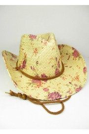 MHGS Floral Cowboy Hat - Front cropped