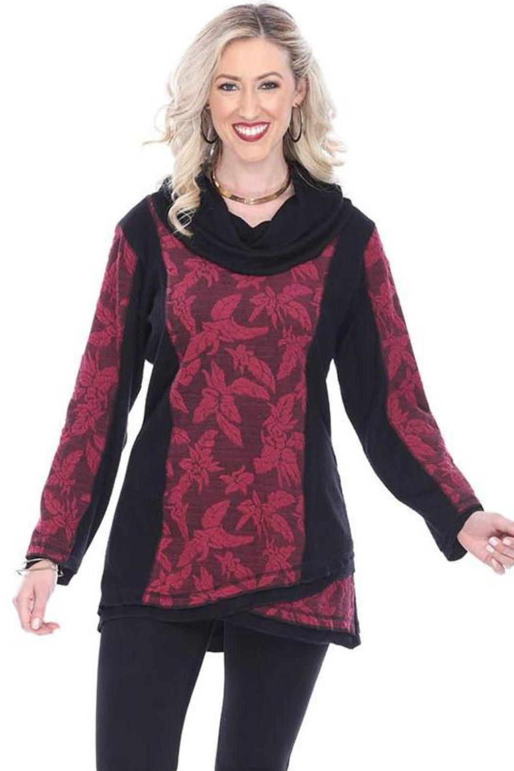 Parsley & Sage Floral Cowl Tunic - Main Image