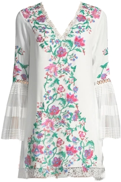 Shoptiques Product: Floral Crepe Dress