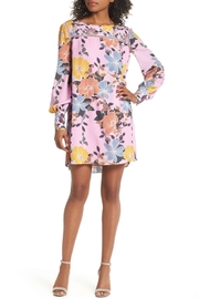 French Connection Floral Crepe Shift-Dress - Product Mini Image