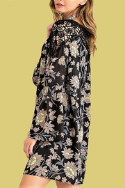 People Outfitter Floral Crochet Dress - Front full body