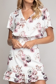 Abeauty by BNB Floral Crop Blouse - Front cropped