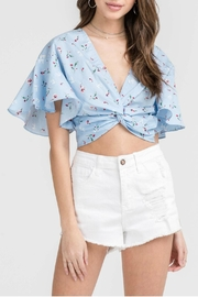 Lush Floral Crop Top - Product Mini Image