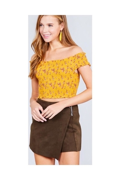 Active USA Floral Crop Top - Product List Image