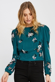 Gentle Fawn Floral Cropped Blouse - Product Mini Image