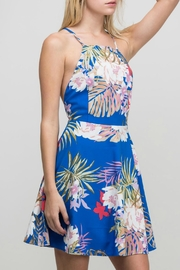 ALB Anchorage Floral Cross-Back Dress - Side cropped