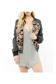 Saltwater Luxe Floral Crossfire Bomber - Product Mini Image