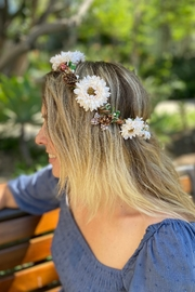 Jeanne Simmons Floral Crown - Side cropped