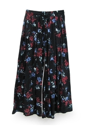 RD Style Floral Culotte Pant - Back cropped