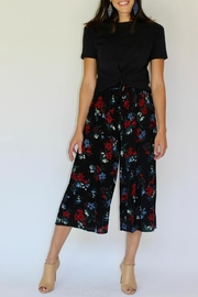 RD Style Floral Culotte Pant - Front full body