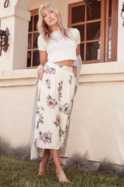 SAGE THE LABEL Floral Culottes - Product Mini Image