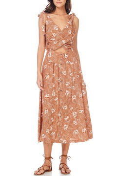 Anama Floral Cut-Out Dress - Product List Image