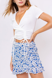 Le Lis Floral Cutie Skirt - Product Mini Image