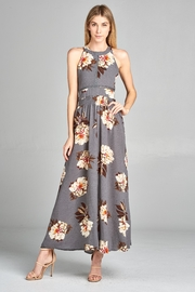Racine Floral Cutout Maxidress - Back cropped