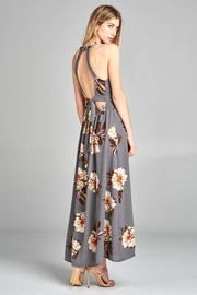Racine Floral Cutout Maxidress - Side cropped