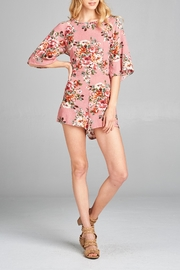 Racine Floral Cutout Romper - Other