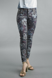 Tempo Paris  FLORAL DENIM PANTS - Product Mini Image