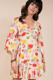 Ivy Jane Floral Dolman Dress with Ruffle - Product Mini Image