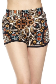 New Mix Floral Dolphin Short - Front cropped