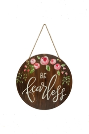 Brownlow Gifts Floral Door&Wall Hanger - Product Mini Image