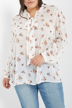 Soprano Floral Dot Blouse - Product List Image
