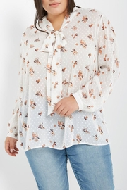 Soprano Floral Dot Blouse - Product Mini Image