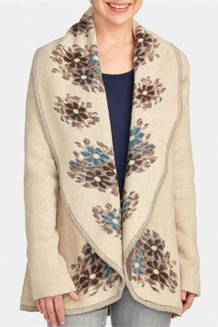 Coco + Carmen Floral Downton Cardigan - Alternate List Image