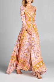 Racine Floral Dreamy-Romantic Maxi-Dress - Product Mini Image