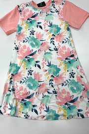 Lady's World Floral Dress - Front cropped