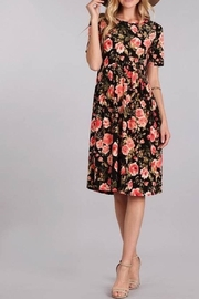 Chris & Carol Floral Dress - Product Mini Image